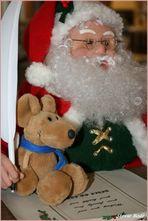 Francois-Manoel bei Santa Claus