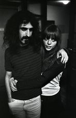 Frank Zappa mit Frau 1966