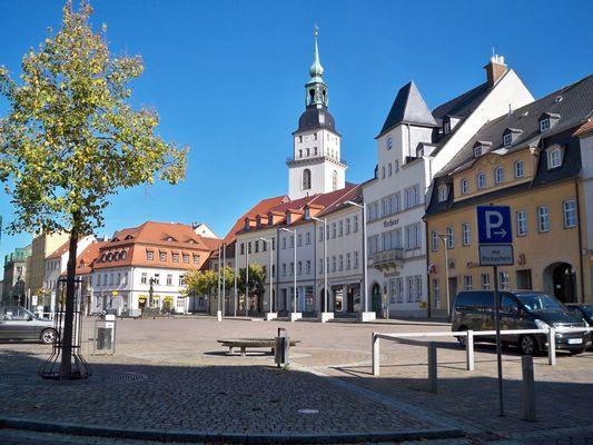 Frankenberg/Sa Marktplatz