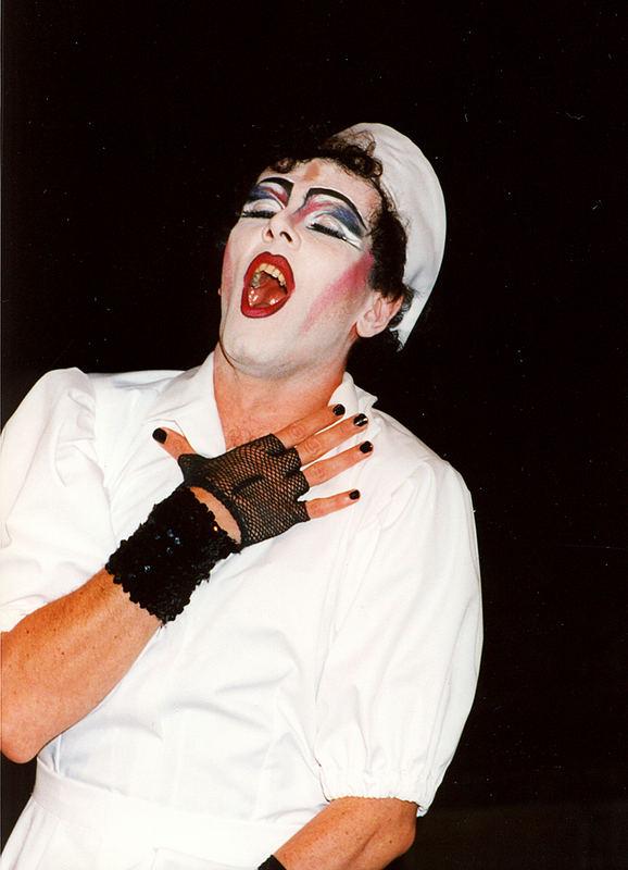frankenfurter aus dem musical rocky horror 1997 tecklenburg