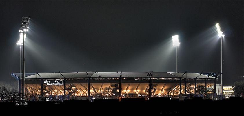 *** Frankenstadion bei Nacht ***