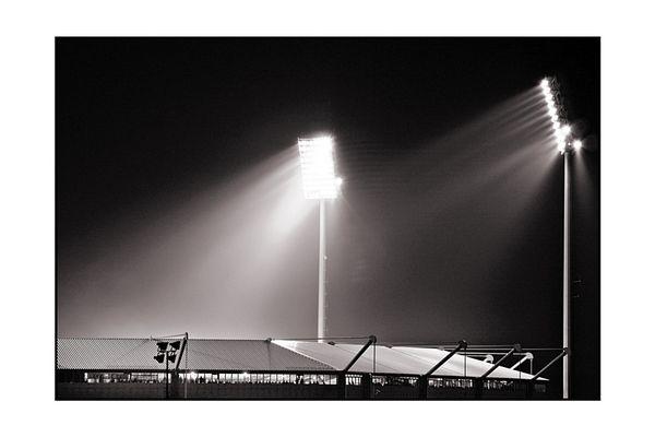 *** Frankenstadion bei Nacht II ***