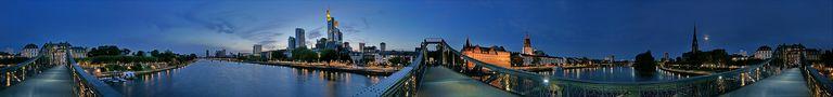 Frankfurt - 360° und mehr von Karl-Heinz Althaus