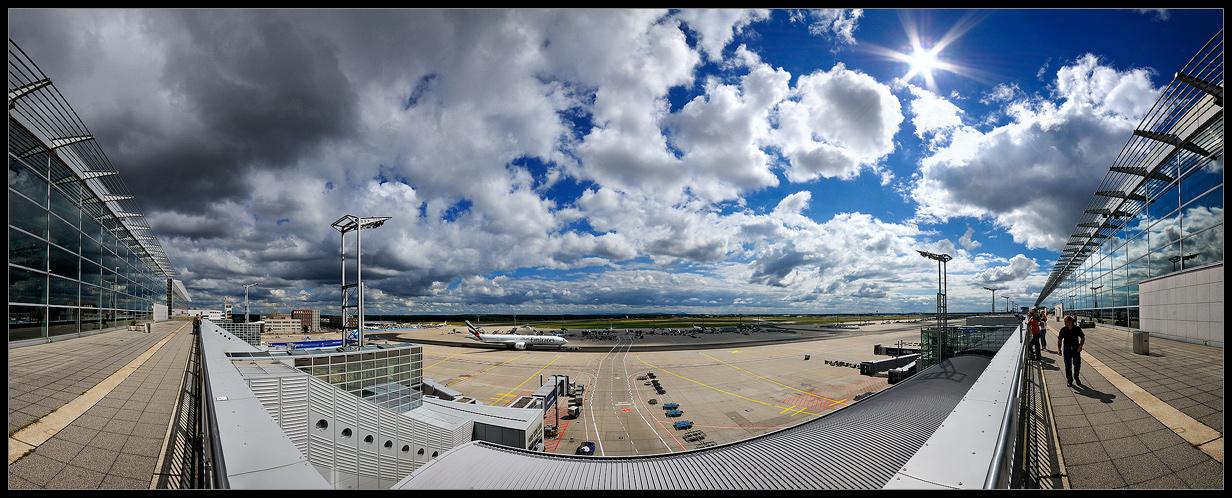 ... Frankfurt Airport ...