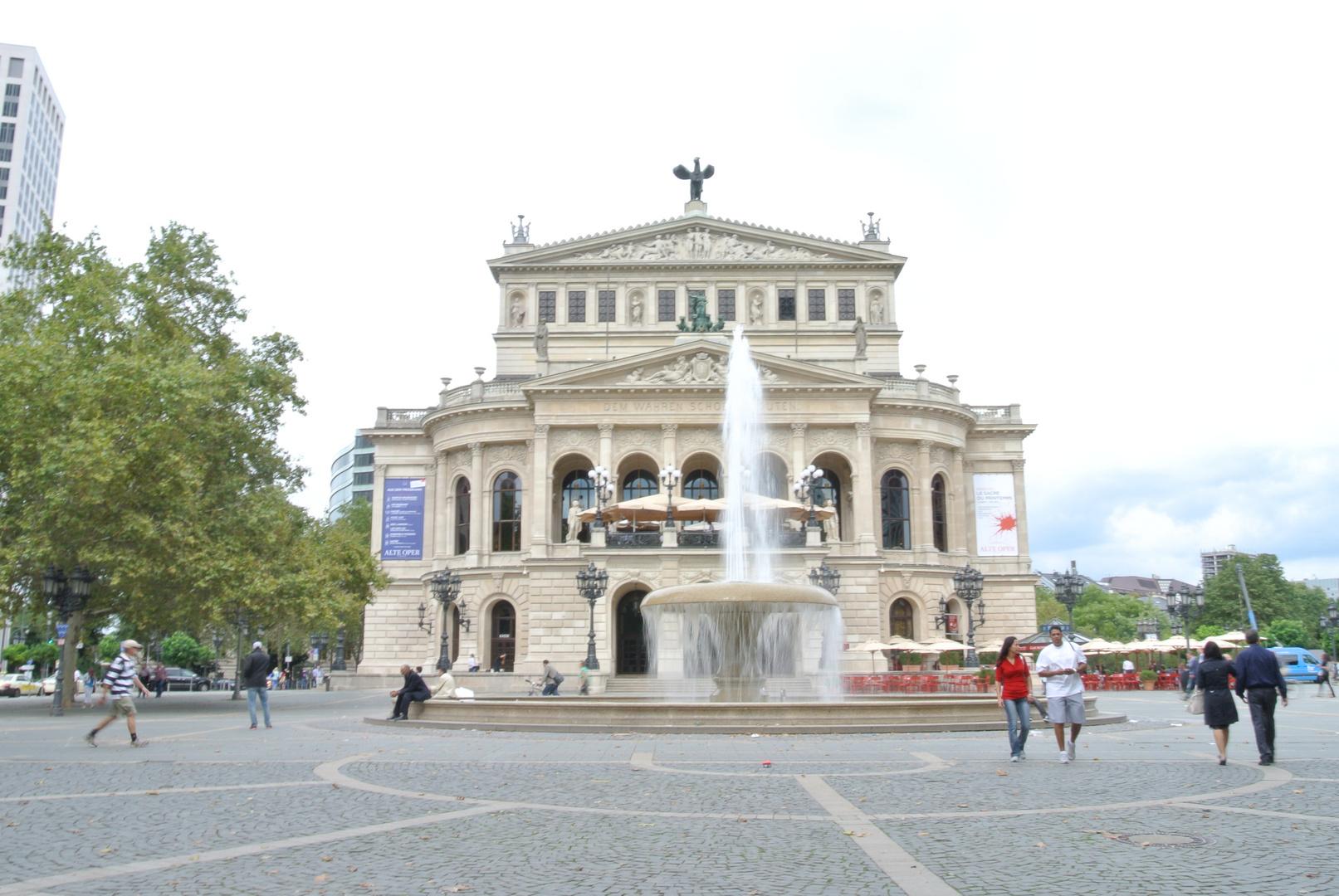 Frankfurt altes Gebäude