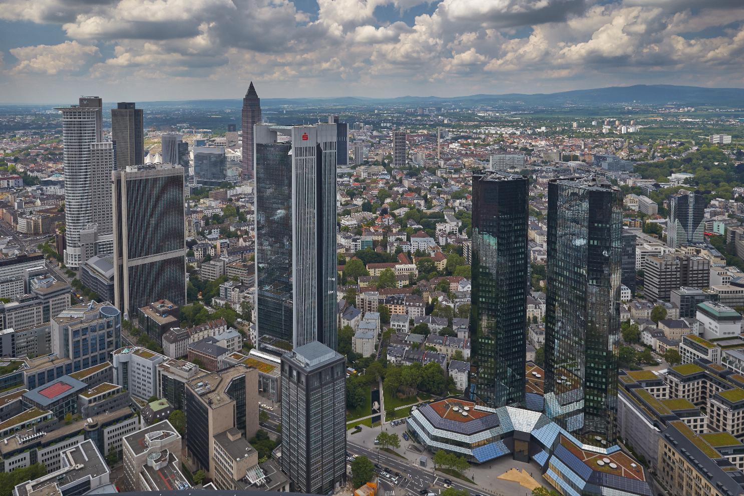Frankfurt am Main - Blick vom MAIN TOWER