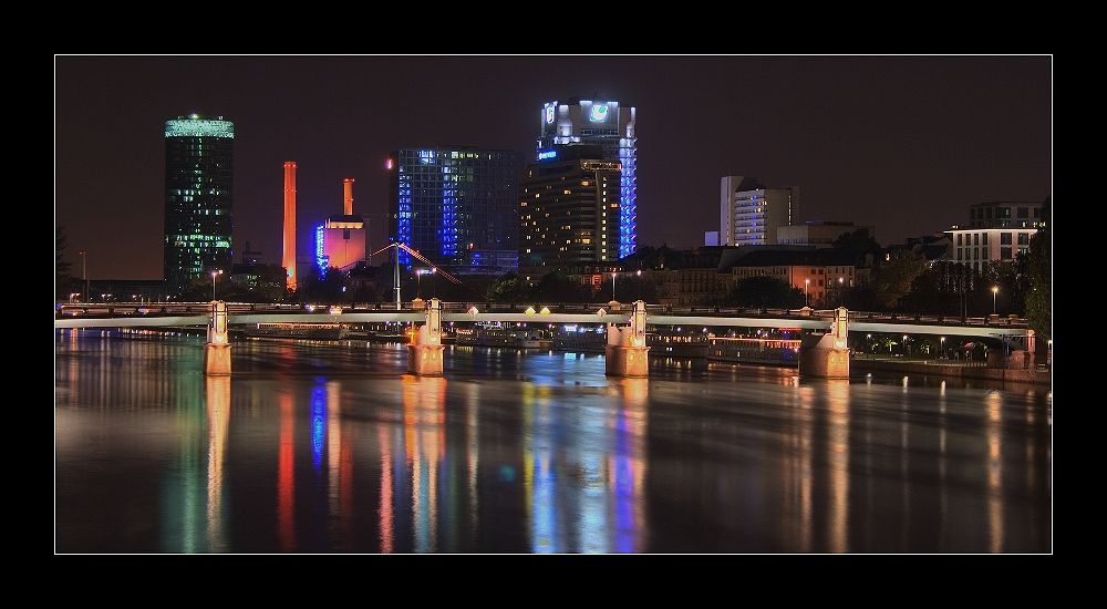 Frankfurt am Main FFM HDR