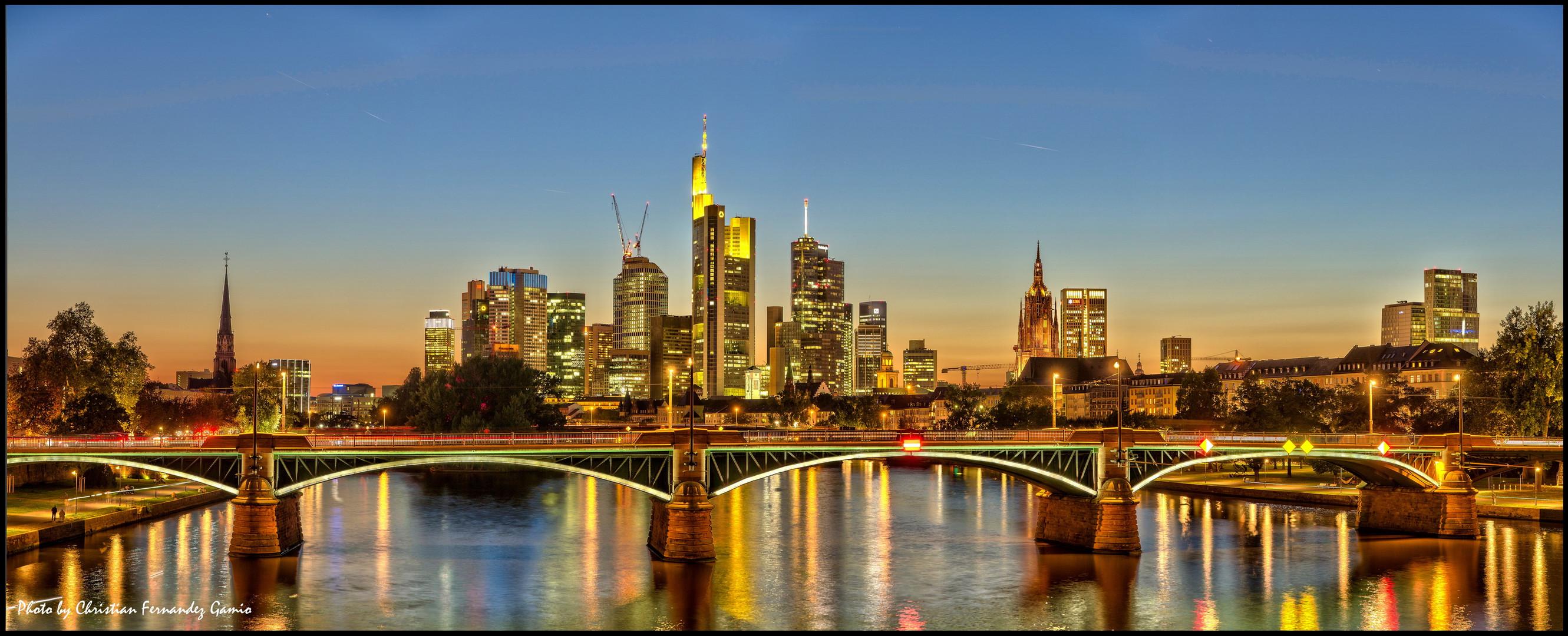 Frankfurt am Main - Mainhattenblick