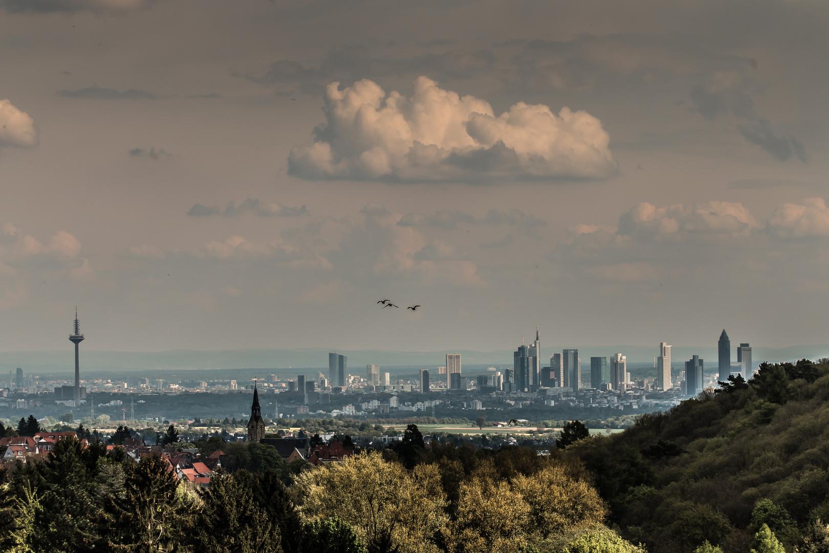 Frankfurt am Main mal kitschig