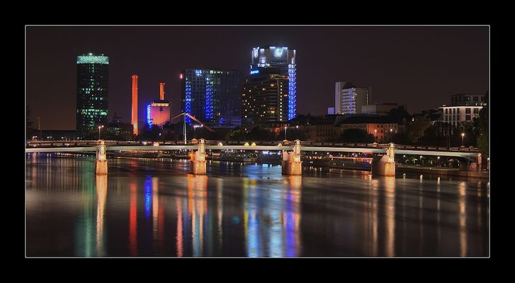 Frankfurt am Main @ Night