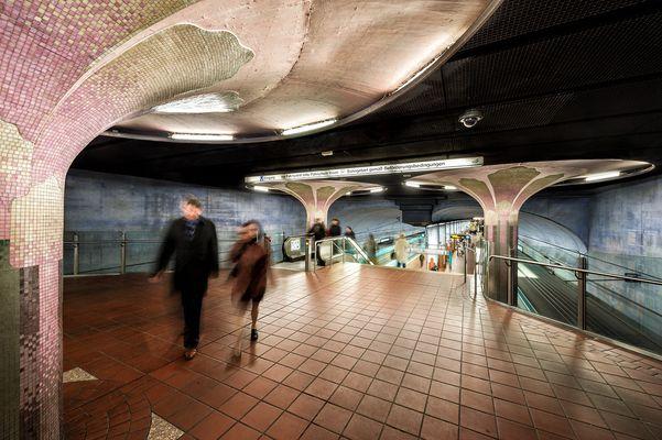 Frankfurt a.M. - U-Bahnstation Westend