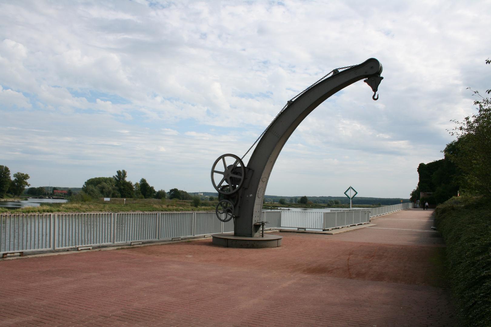 Frankfurt an der Oder - alter Hafenkran