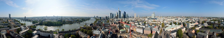 Frankfurt an einem schönen Septembertag