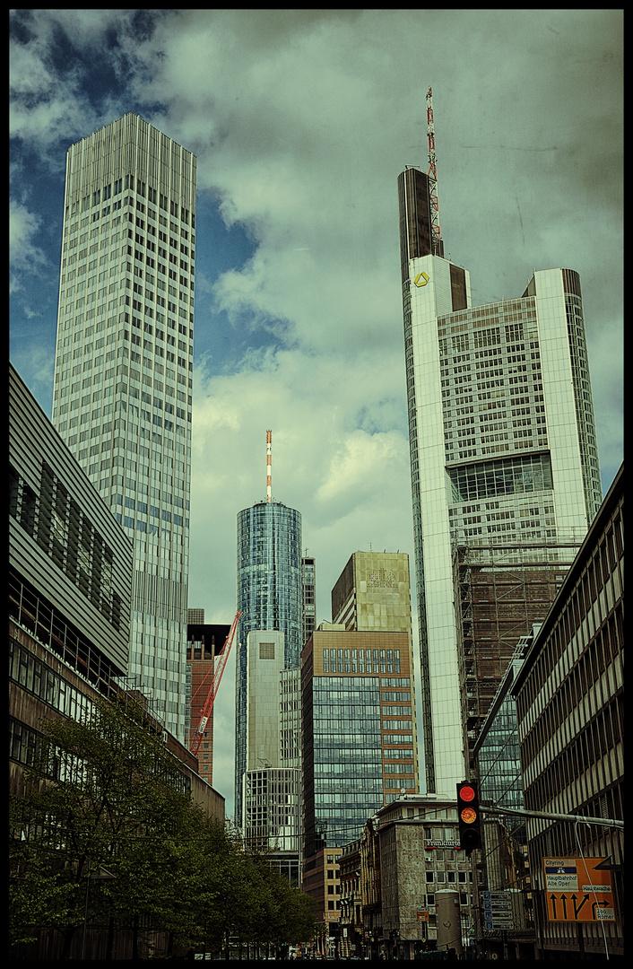 Frankfurt Bankenviertel 2012