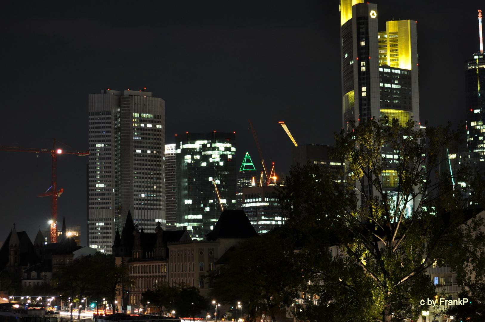 Frankfurt bei Nacht -2-