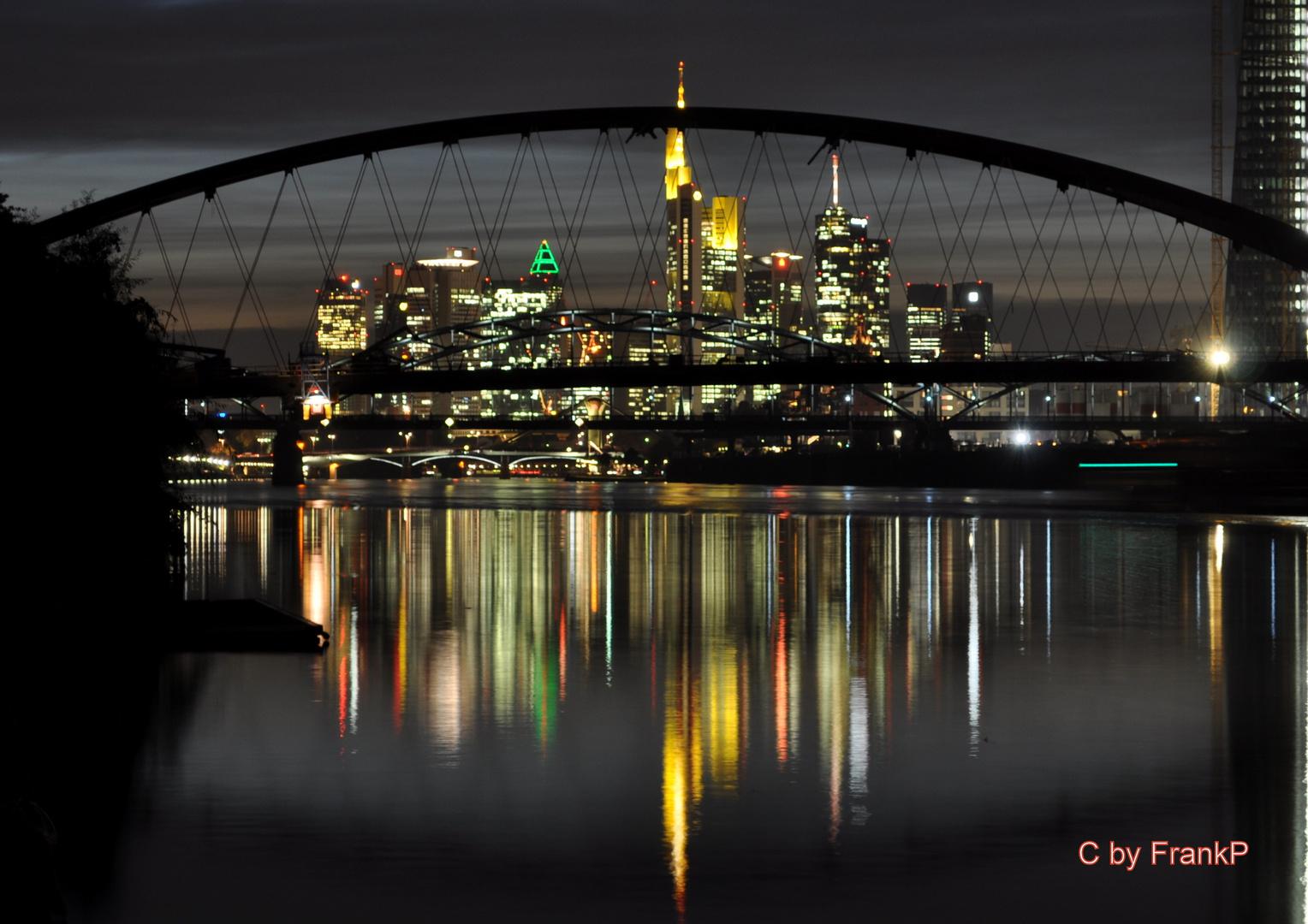 Frankfurt bei Nacht -3-