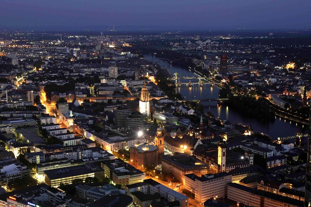 Frankfurt bei Nacht 86