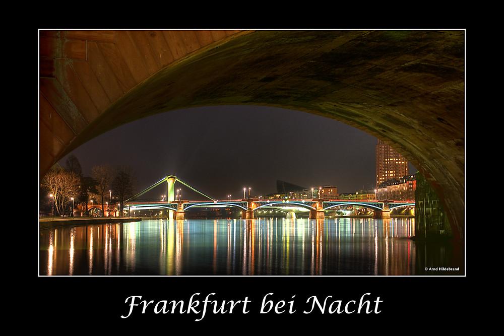 Frankfurt bei Nacht Nr. 3