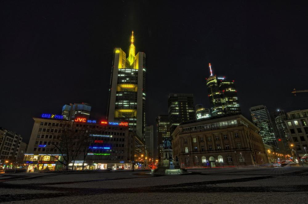 Frankfurt bei Nacht V