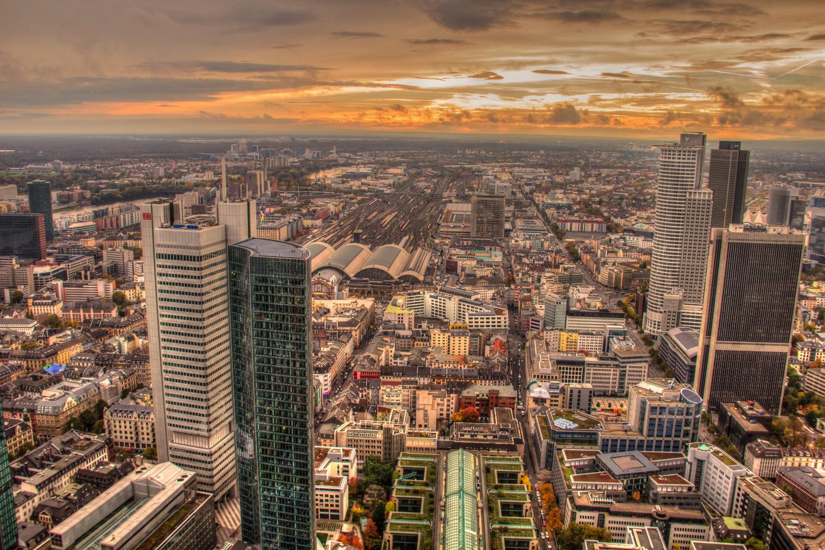 Frankfurt Blick vom Main Tower