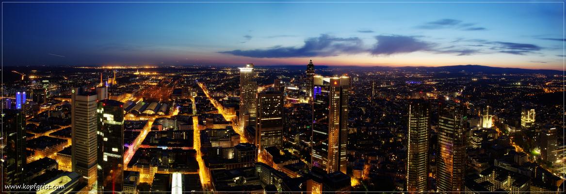 Frankfurt City Night