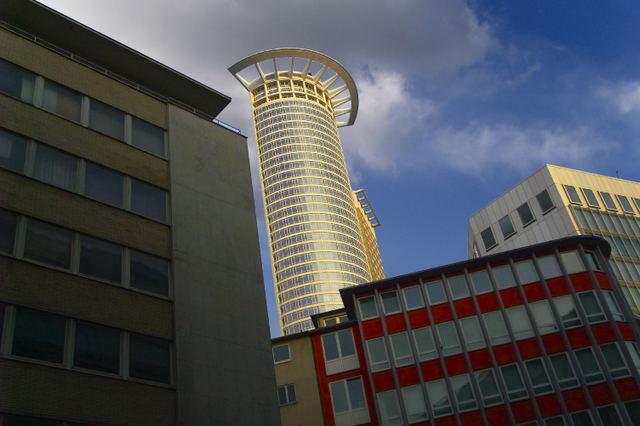 Frankfurt DZ-Bankturm Ansicht 2