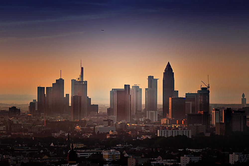 Frankfurt erwacht