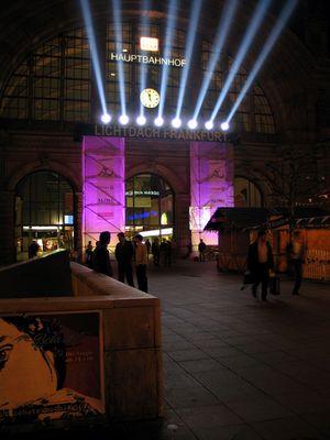 Frankfurt HBF, Luminale 2006
