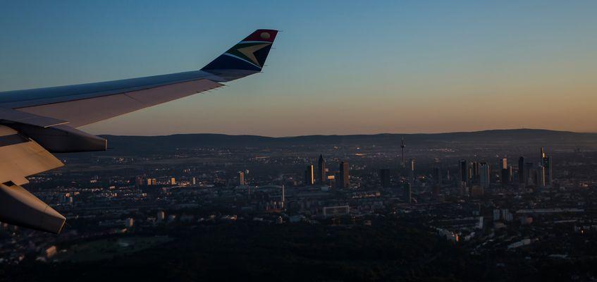 Frankfurt im ersten Morgenlicht