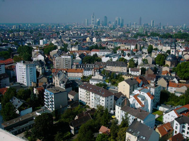 Frankfurt in der Morgensonne