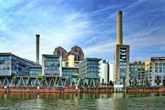 Frankfurt - Kraftwerk am Mainufer
