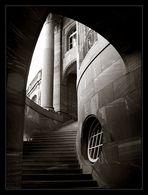 Frankfurt Messe II - Fenster zur Treppe