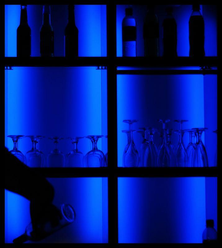 Frankfurt Museumsuferfest Blue Night