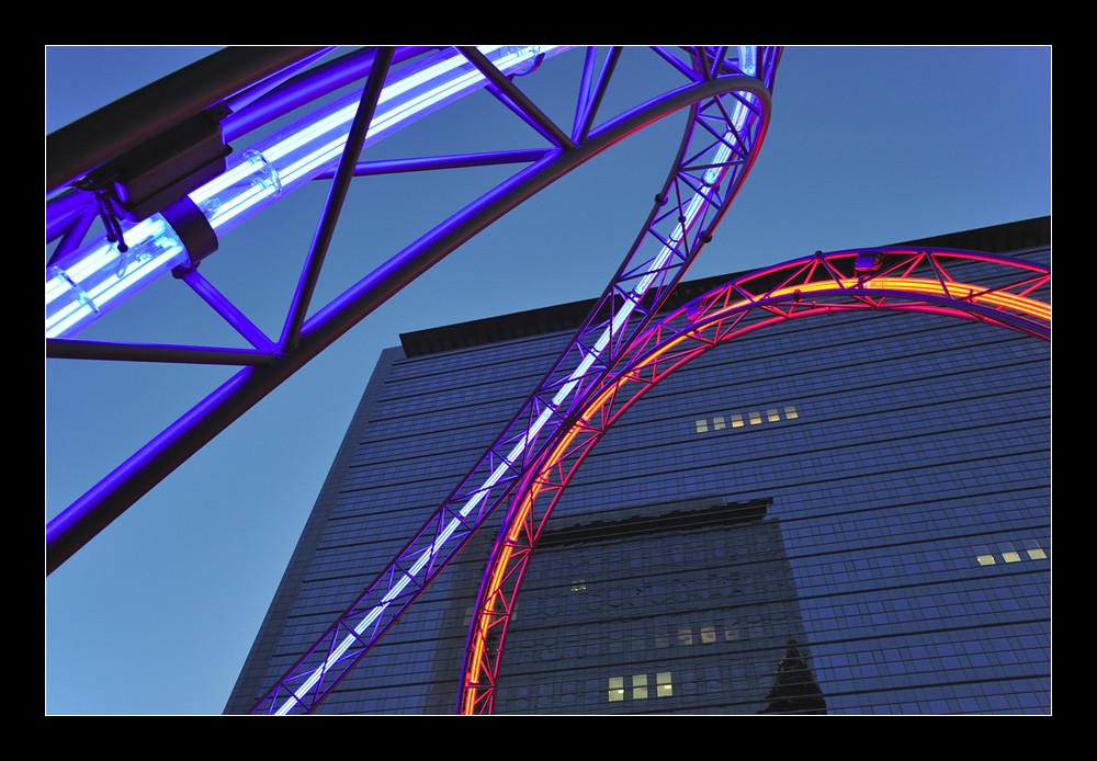 Frankfurt - Neon Ringe