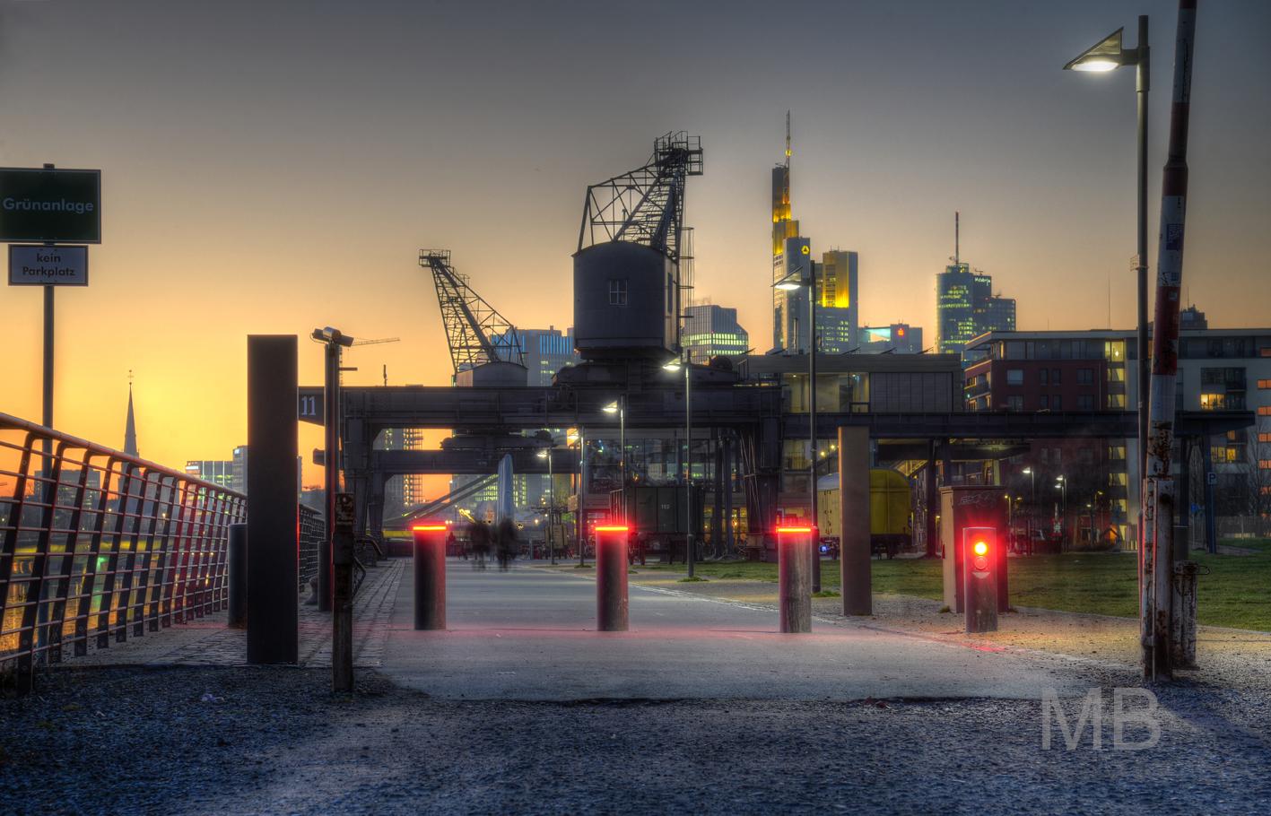 Frankfurt Oosten frankfurt osthafen oosten foto bild deutschland europe hessen