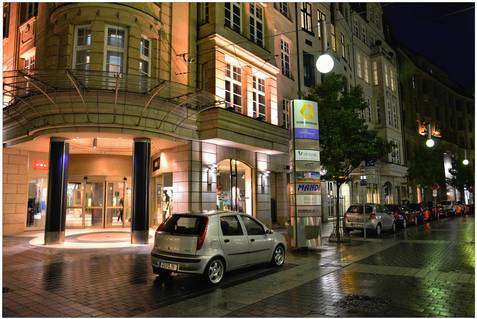 Frankfurt, por la noche (abends)