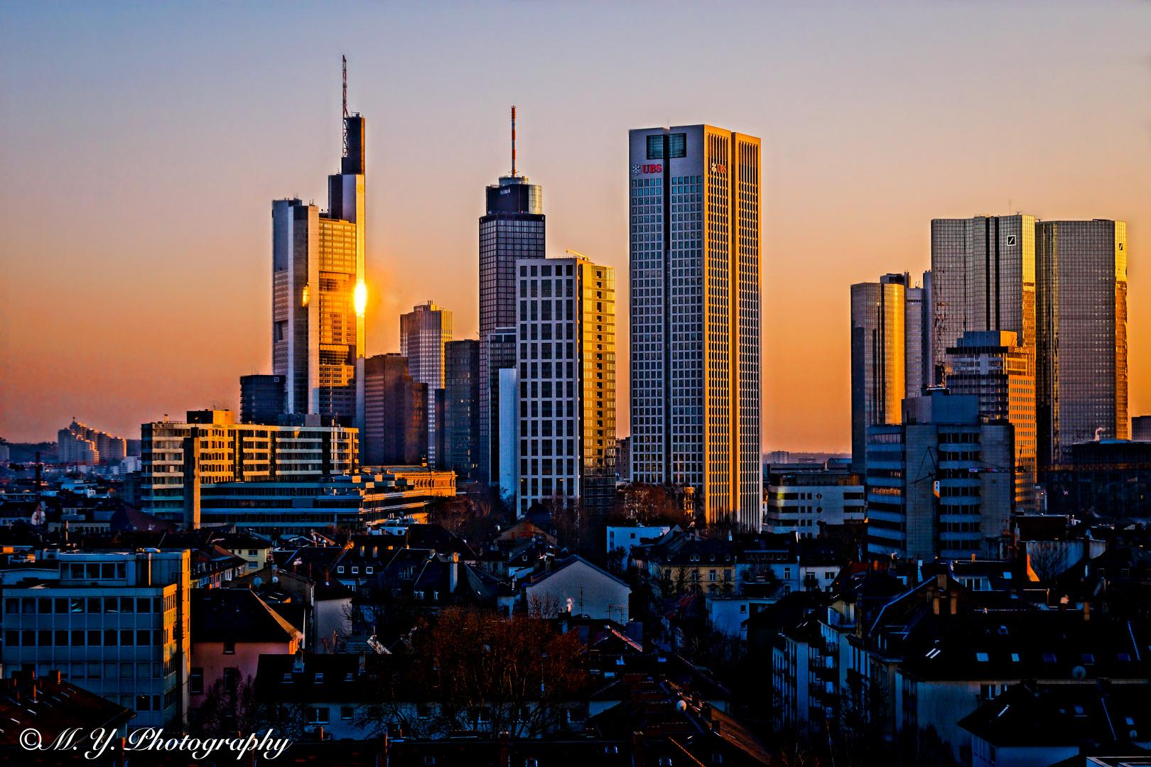 frankfurt skyline foto bild architektur. Black Bedroom Furniture Sets. Home Design Ideas