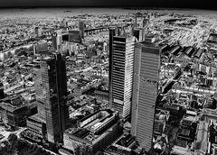 frankfurt skyline ...