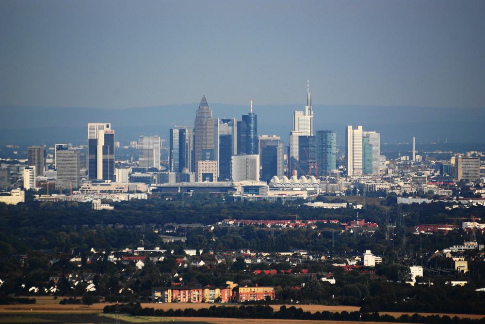Frankfurt Skyline (bearbeitet)