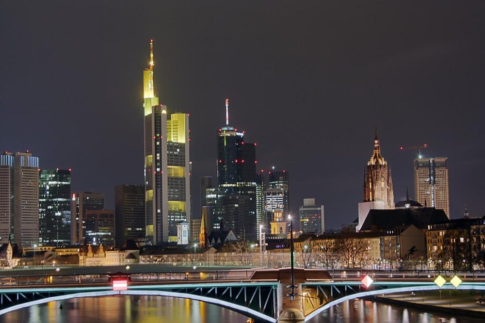 Frankfurt Skyline @night 1