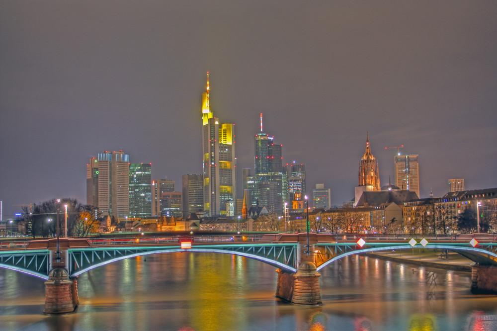 Frankfurt Skyline @night 4