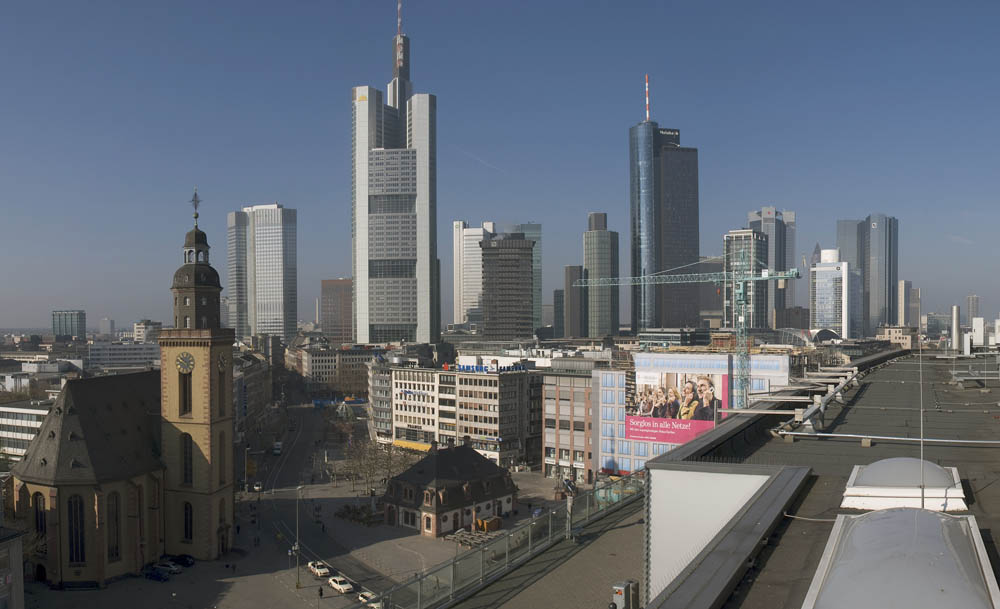 frankfurt skyline panorama foto bild deutschland europe hessen bilder auf fotocommunity. Black Bedroom Furniture Sets. Home Design Ideas