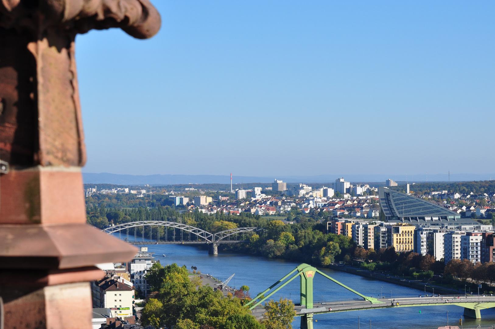 Frankfurt vom Dom Turm