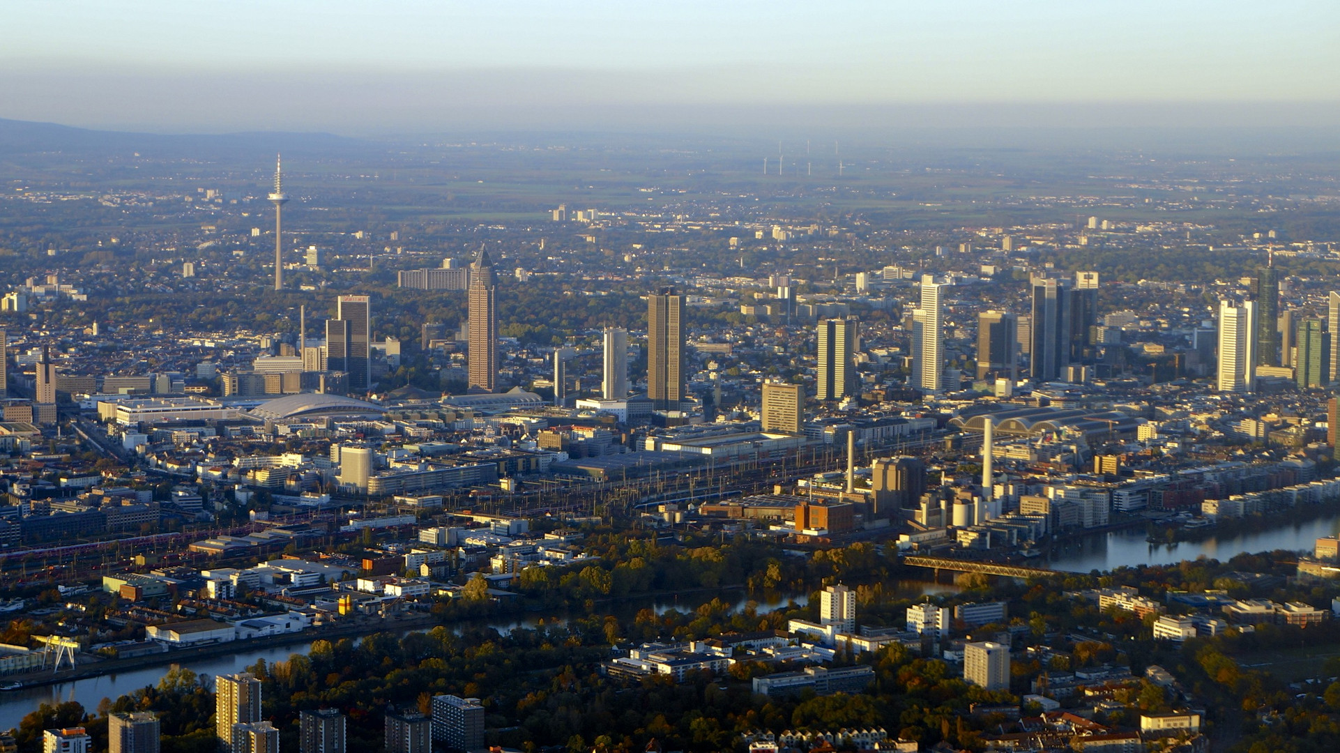 Frankfurt von Oben 2