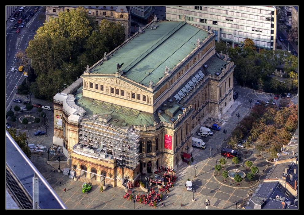 Frankfurt von oben - Alte Oper