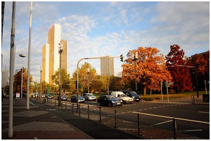 Frankfurter Novembermorgen