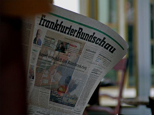 Frankfurter Rundschau: Israel verschärft den Bombenkrieg