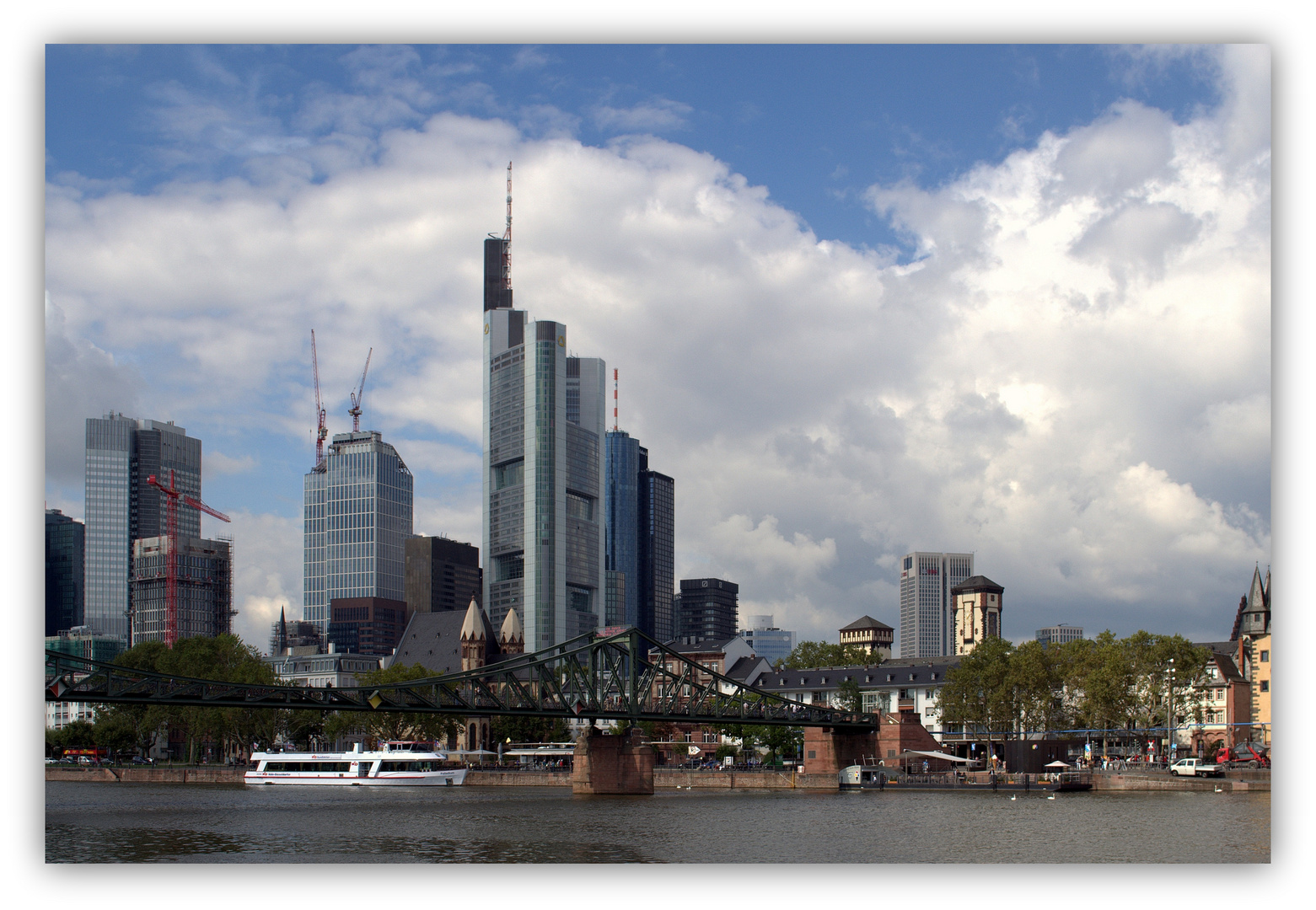 Frankfurter Skyline im Wandel