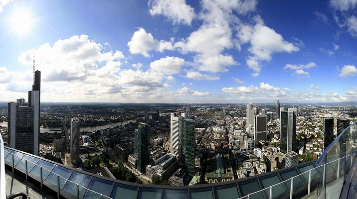 Frankfurter Skyline (Panorama)