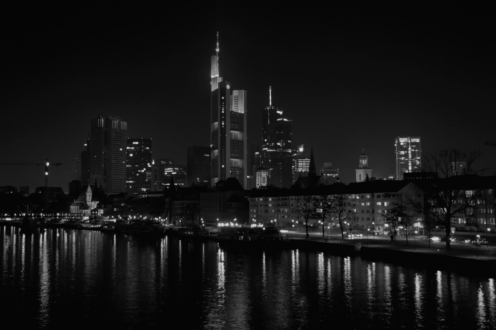 Frankfurter Skyline S/W